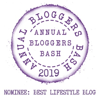 Nominated in Best Lifestyle Blog category