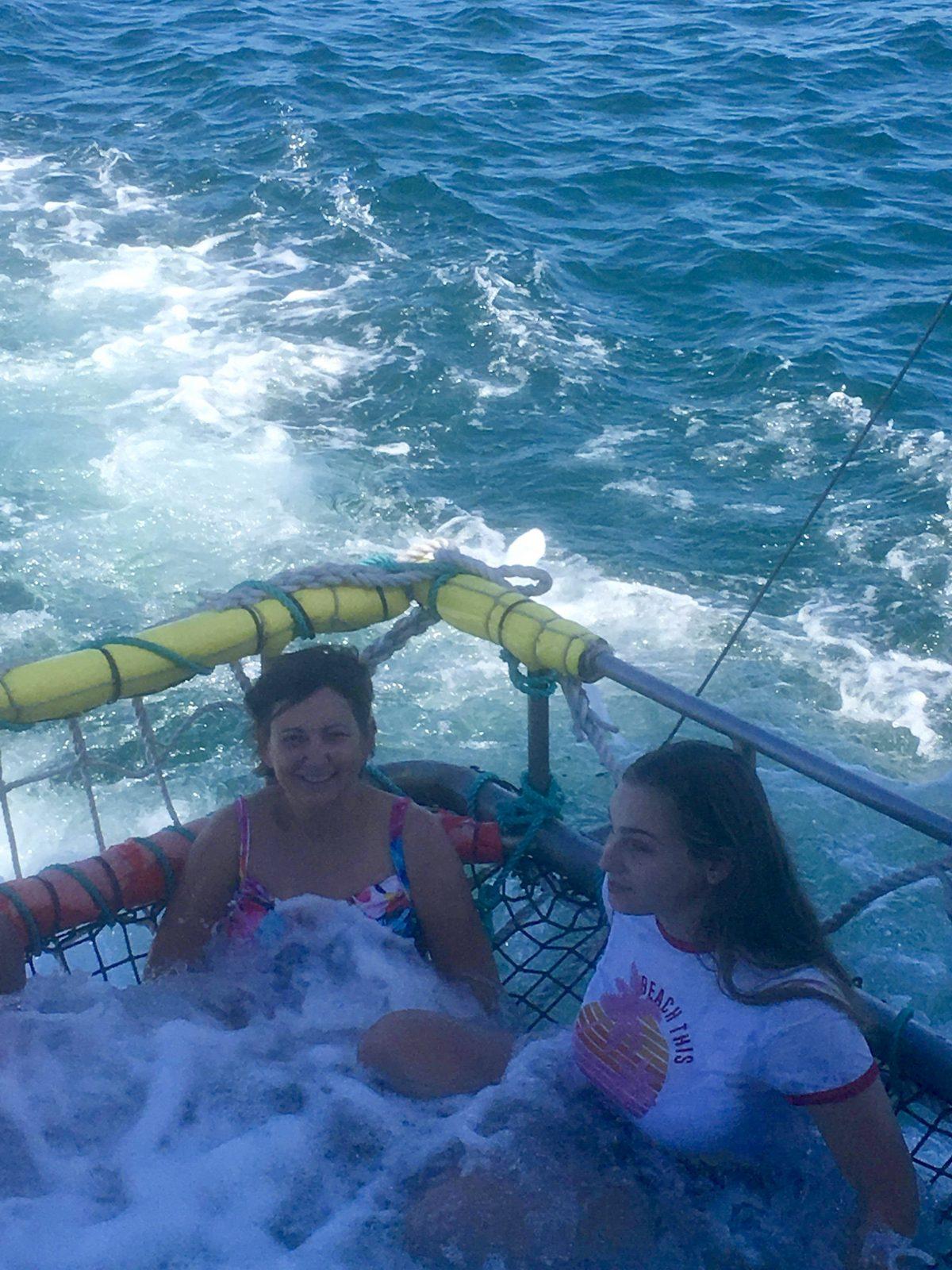 Boom netting fun