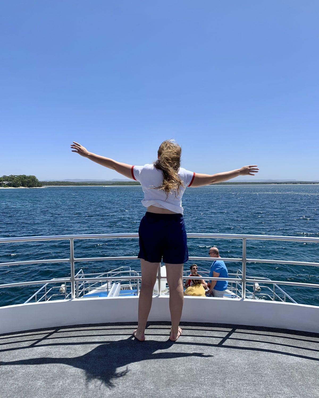 Exhilarating fun on the dolphin cruise