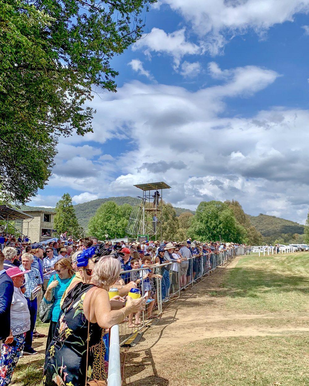 Tumbarumba Race Day crowd