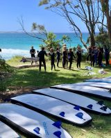 Surf school for Rotary Exchange Students