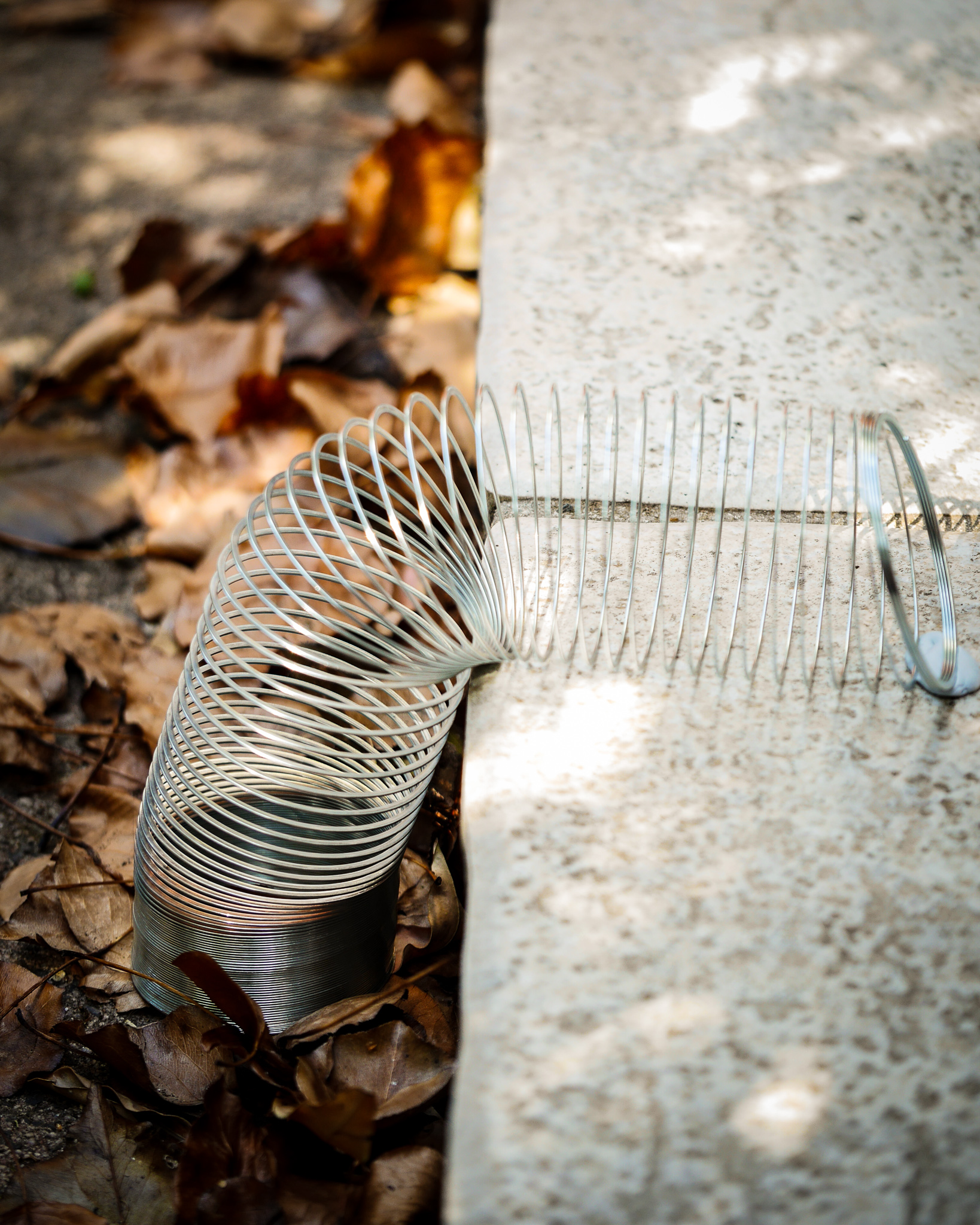 Put a spring in your step – with an old fashioned slinky!