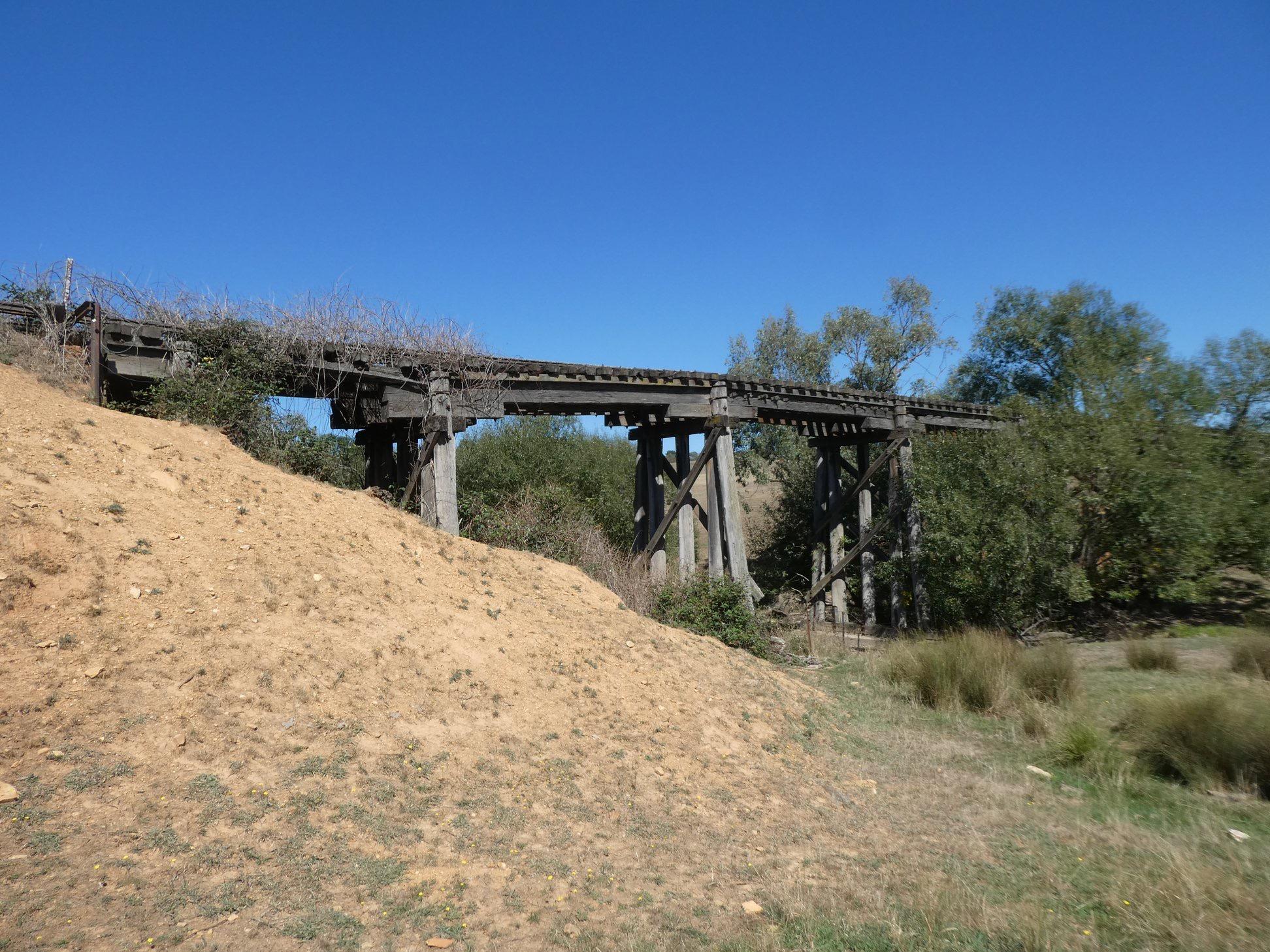 Mannus Creek Bridge along Tumbarumba to Rosewood Rail Trail