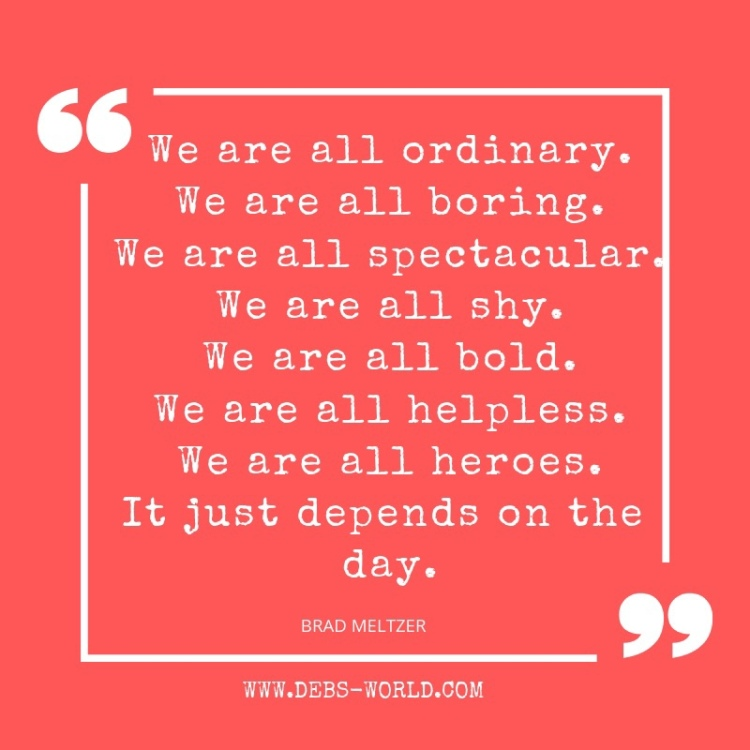 Quote - we are all