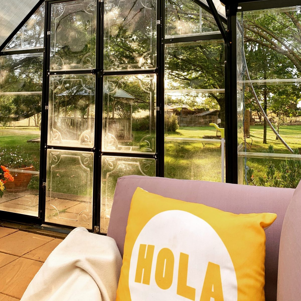 A sunroom with a difference – Deb's World