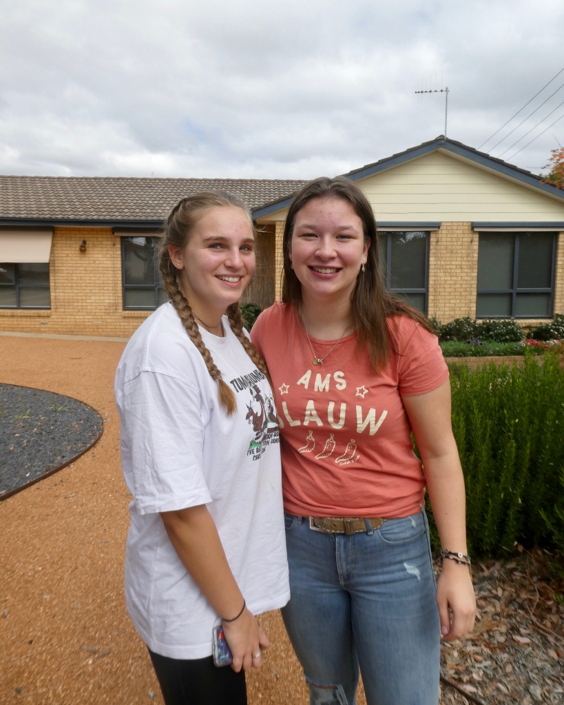 Anna and Lisa - Rotary Youth Exchange students