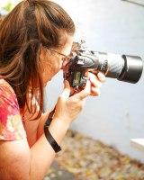 Sharon shooting photos