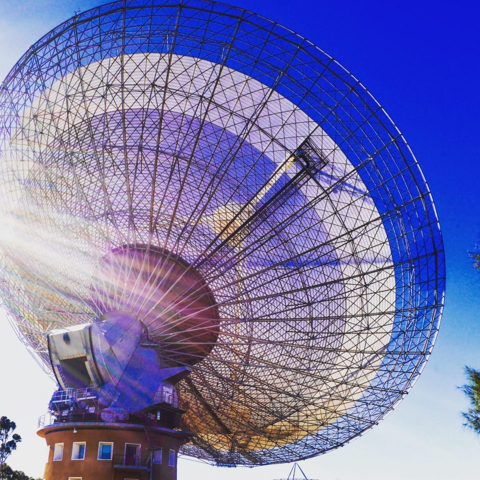 Parkes radio telescope - The Dish