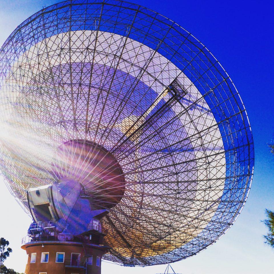Parkes radio telescope - The Dish