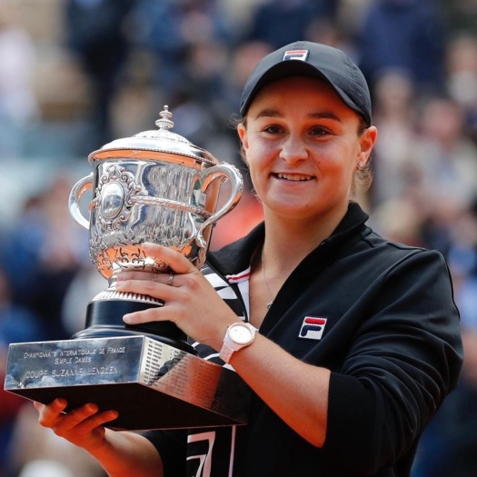 Ash Barty at French Open