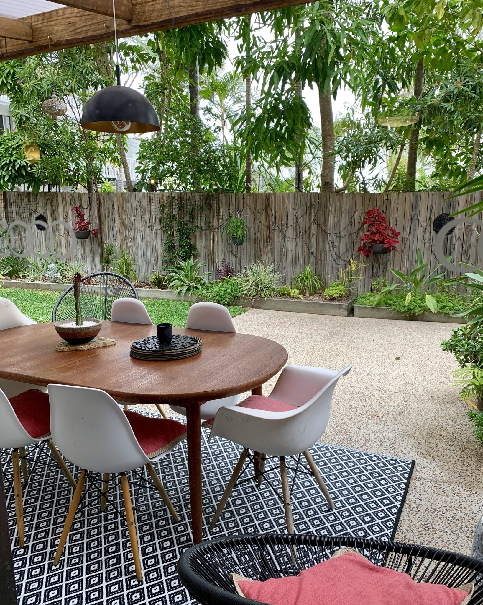 Outside area at our Airbnb in Noosa