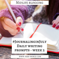 Journaling in July Week #2