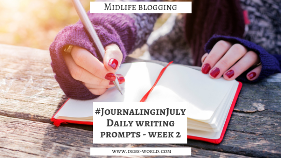 Journaling in July week 2