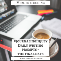 Journaling in July Week - The Final Days
