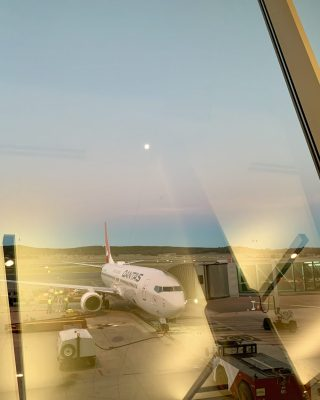 From the airport window