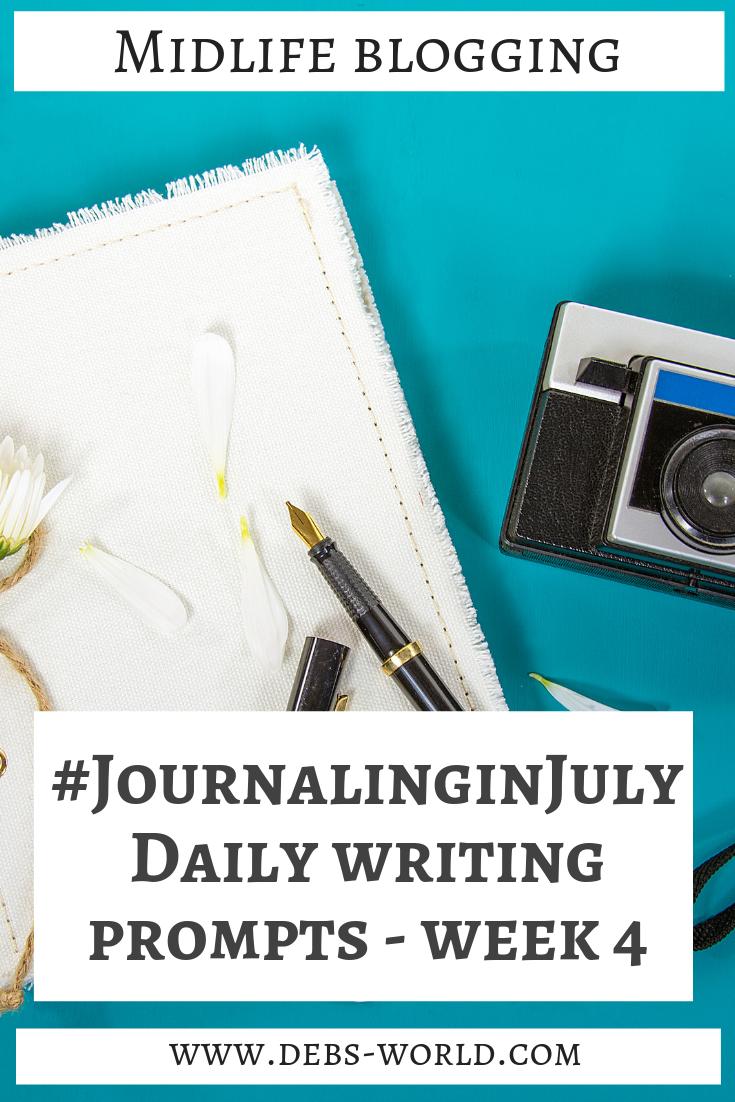 Journaling in July Week #4