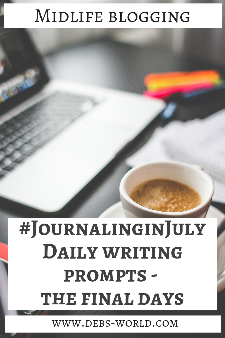 Journaling in July Week – The Final Days