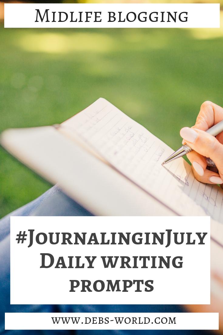 Journaling in July Week #1