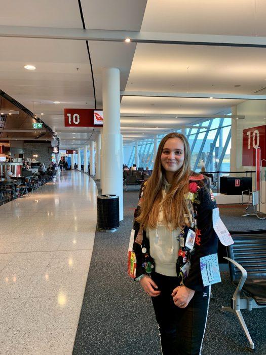 Anna leaving on a jet plane