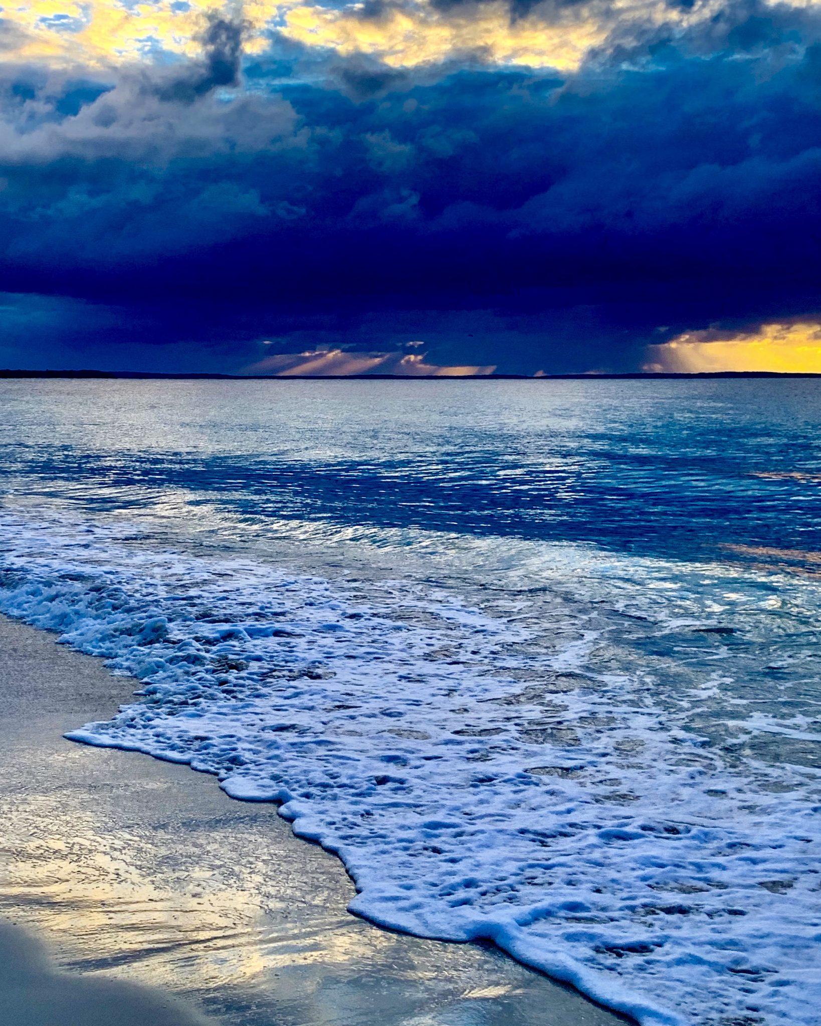 Huskisson beach at sunrise