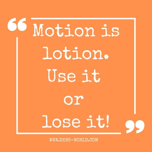 motion is lotion quote
