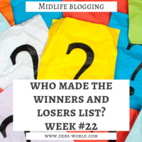 Who made the Winners and Losers list for week #22