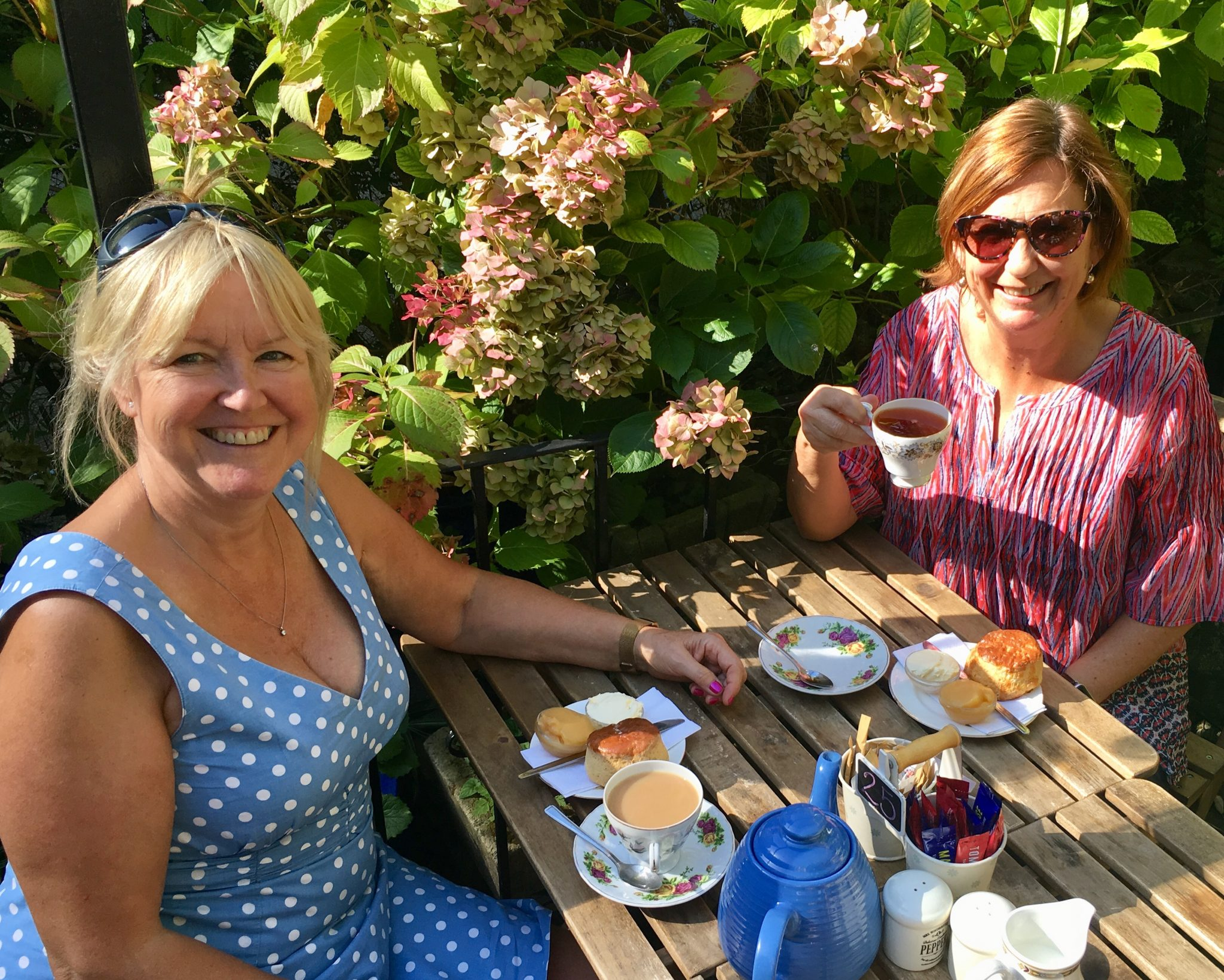 Afternoon tea with Shelley