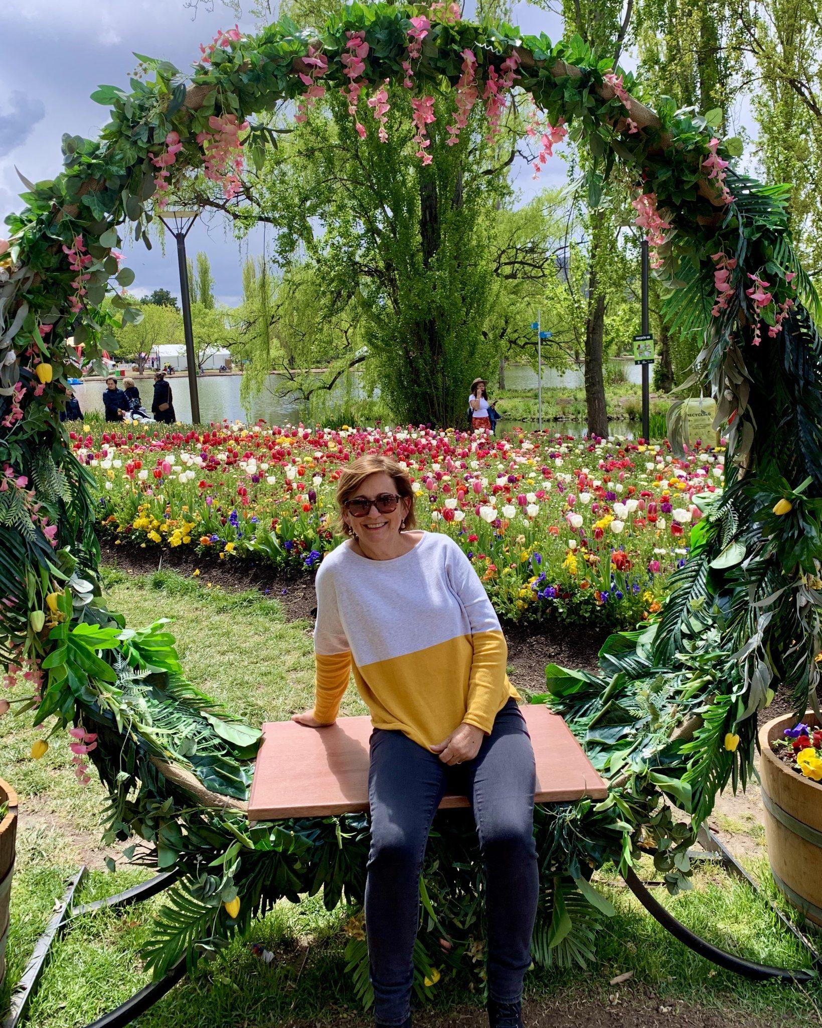 Debbie at Floriade 2019