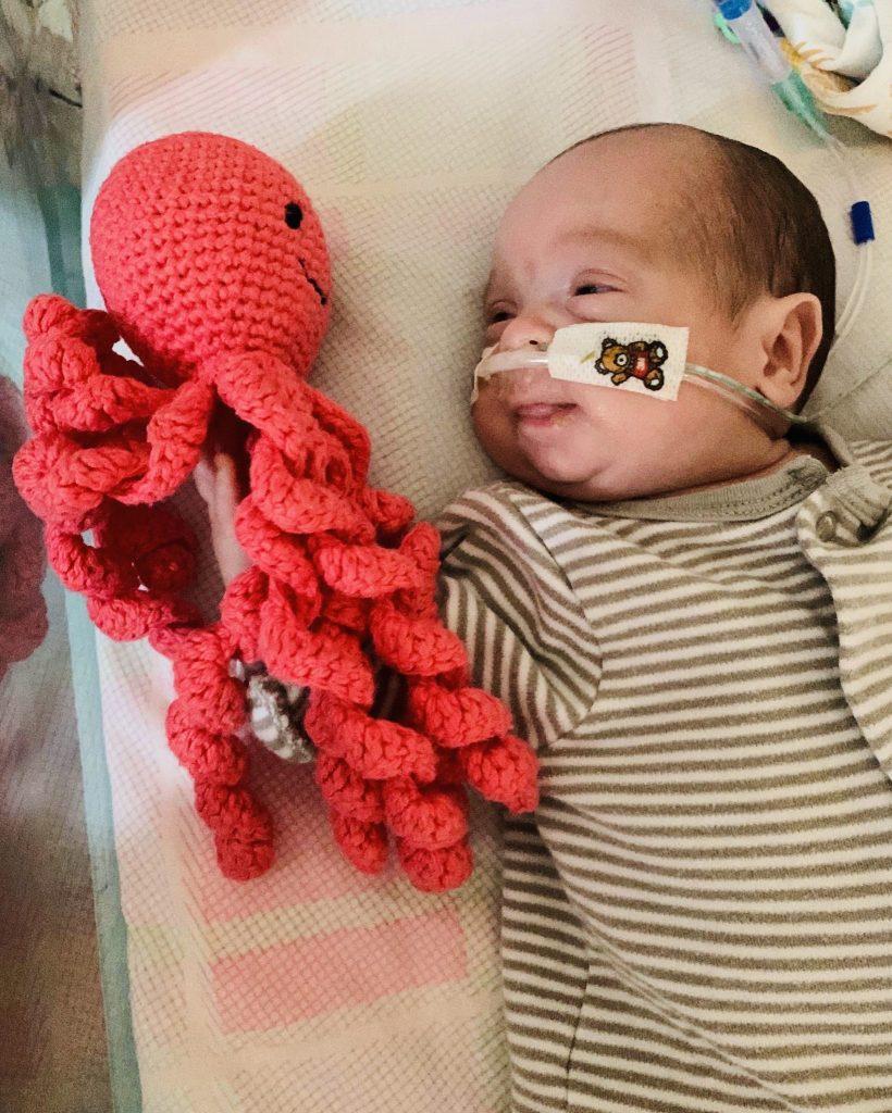 Dottie and her Octopus