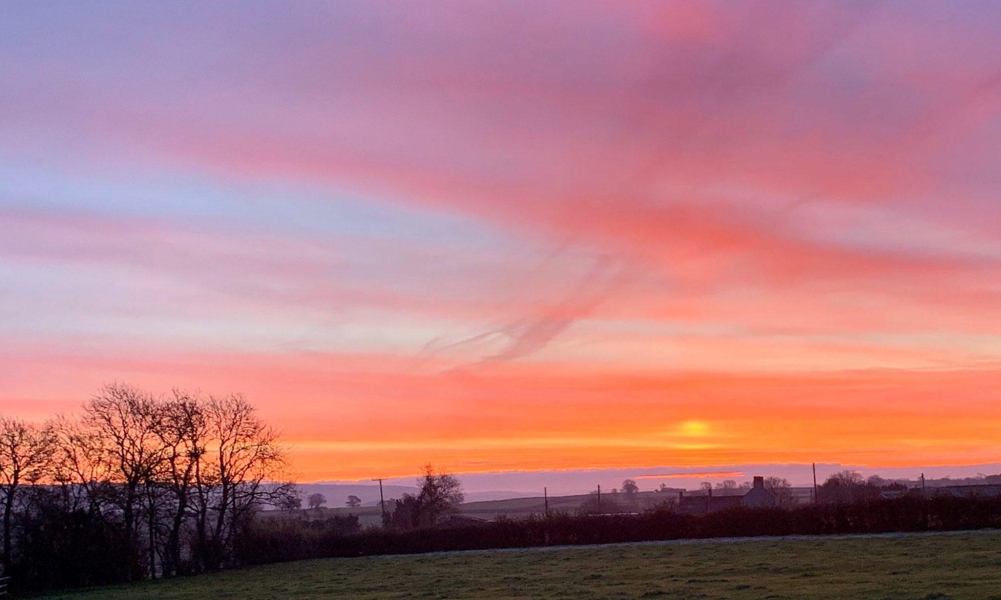 Sunrise 7.18am