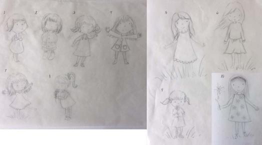Dottie sketches