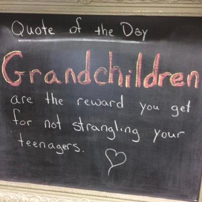 Grandmother rewards quote