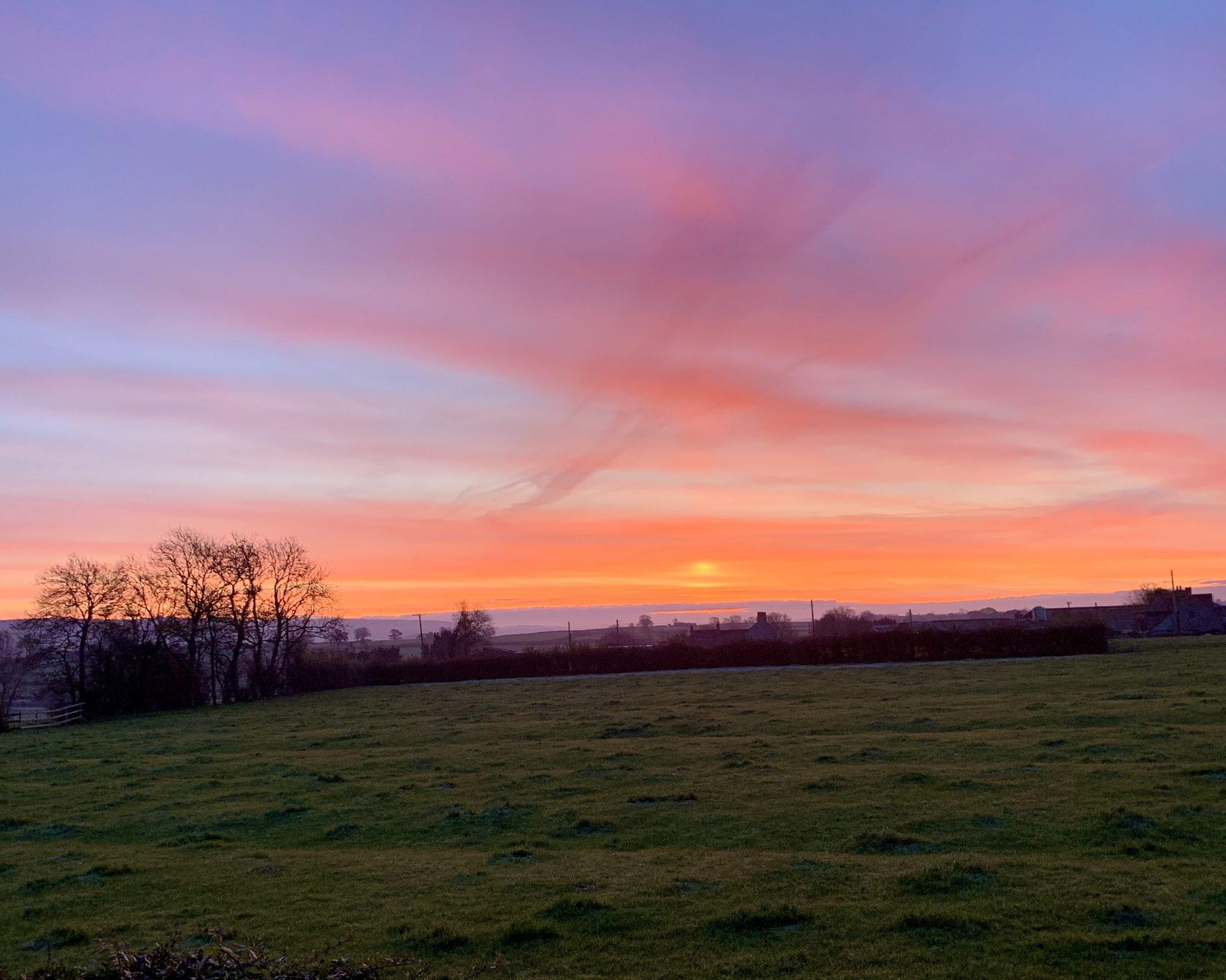 Sunrise 7.17am