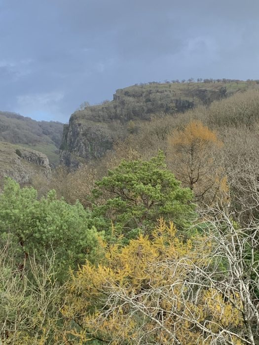 Cheddar Gorge in Autumn