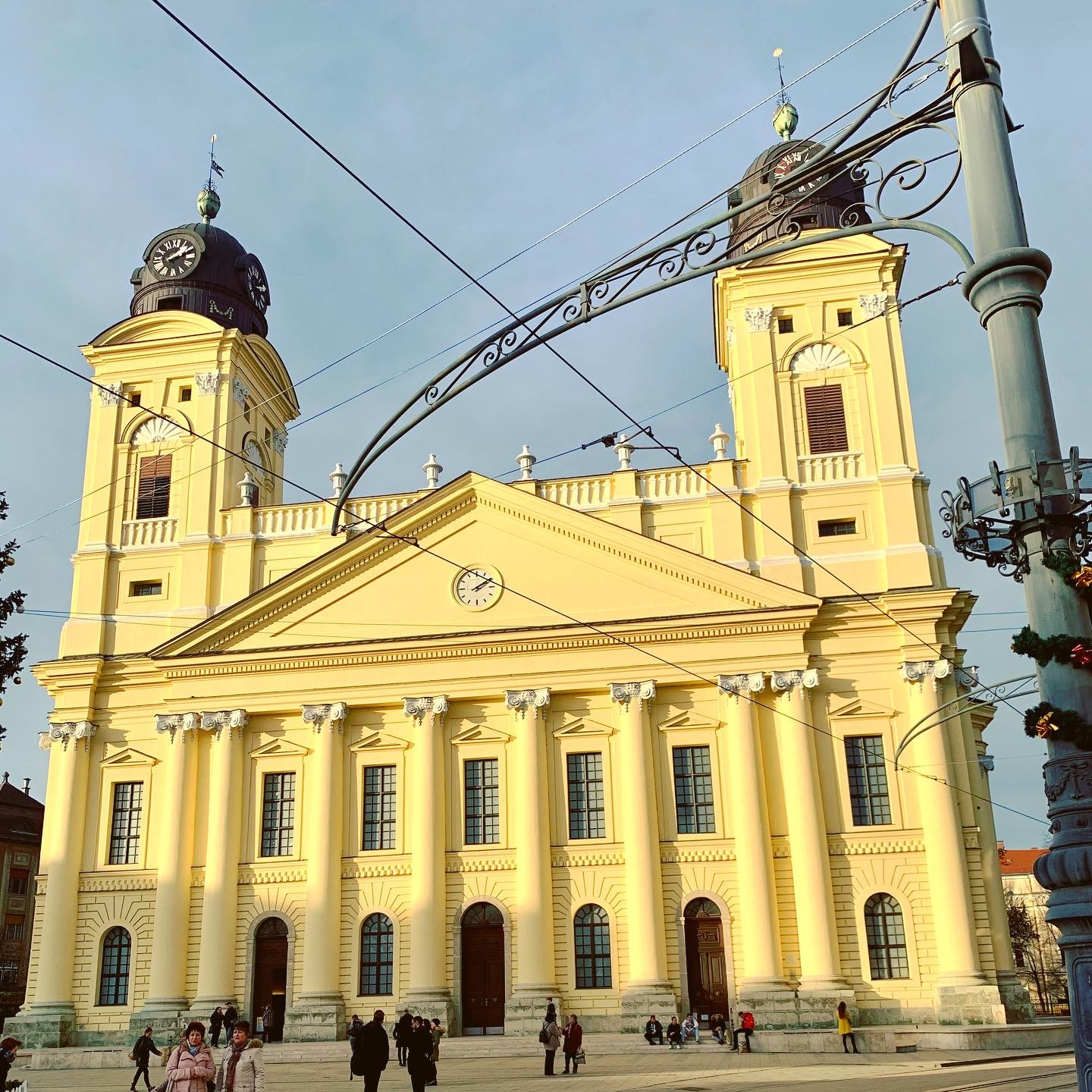 The Reformed Great Church in Debrecen