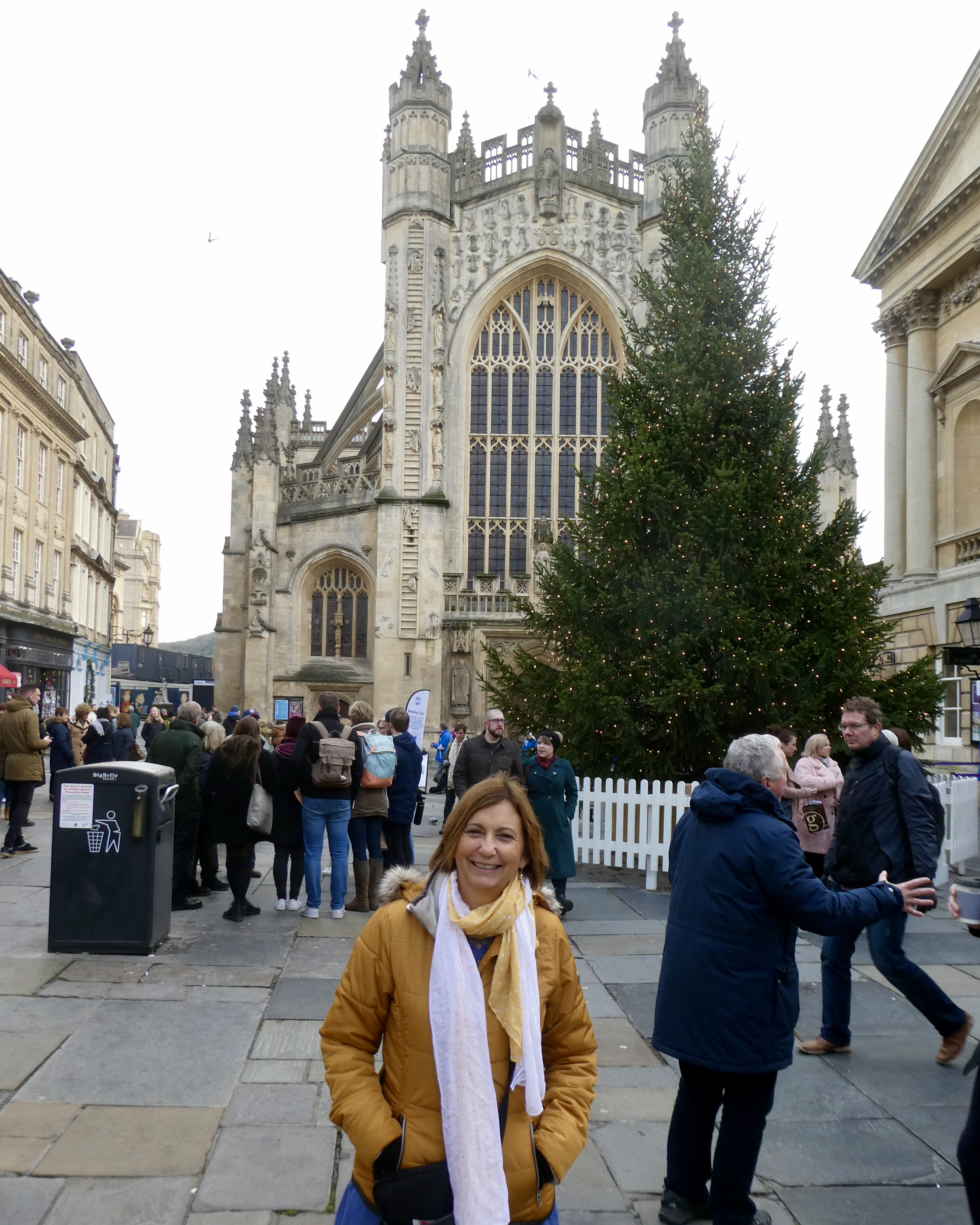 Debbie at Bath's Christmas Markets