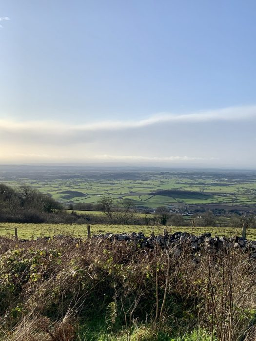 Views over the Somerset countryside