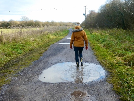 Jumping in puddles as I approach my last year in the 50s