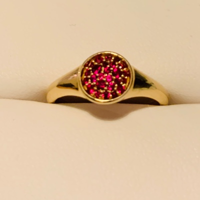 My Ruby ring for 40 years!
