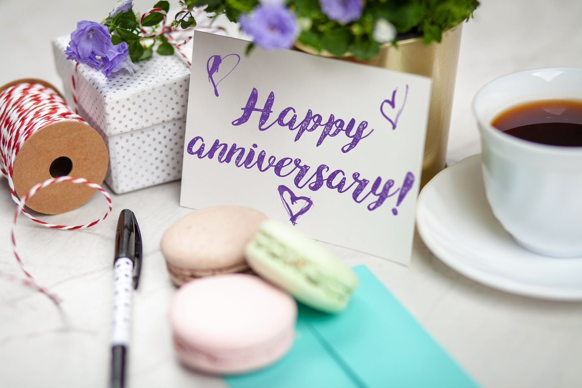 Forty years of married life – makes us sound old!