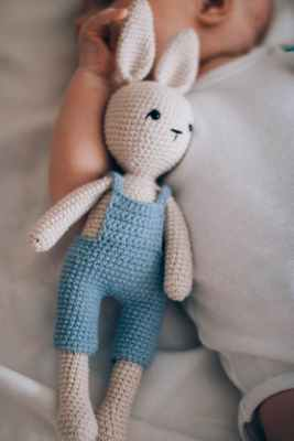 rabbit amigurumi doll