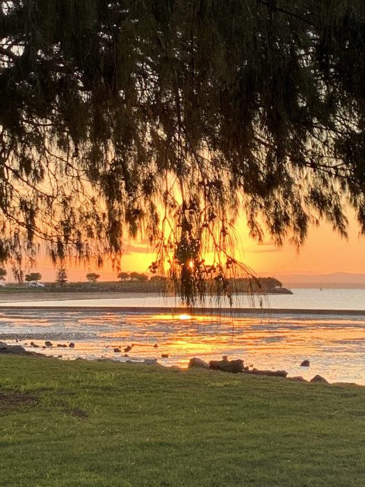 Sunset at Moreton Bay