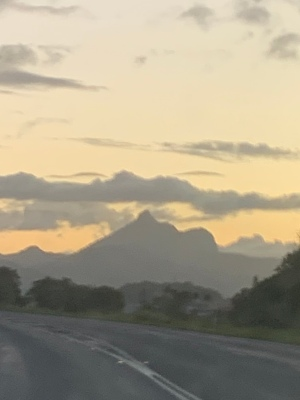 Mt Warning from the road