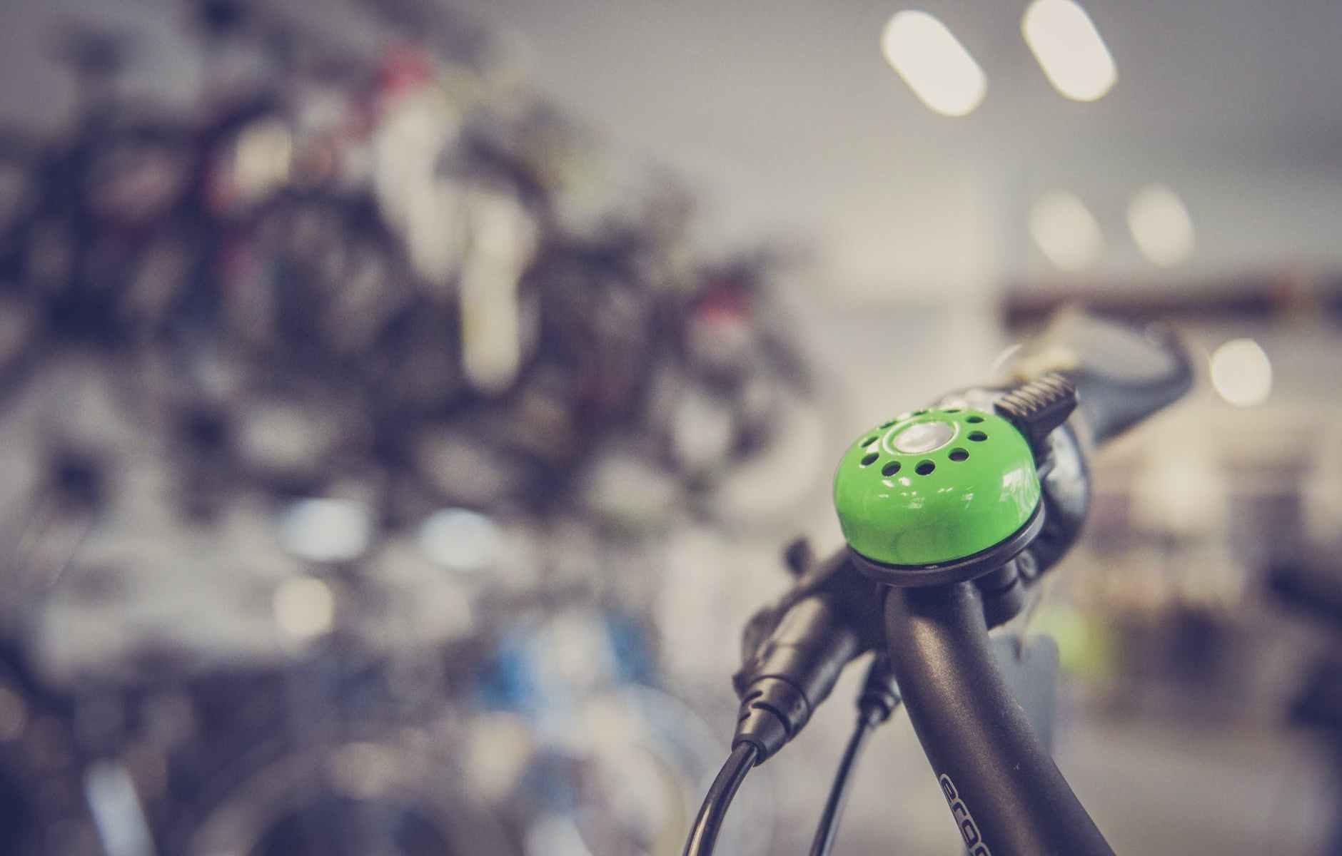 Bell on bike