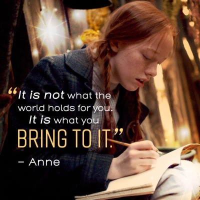 Anne with an E quote