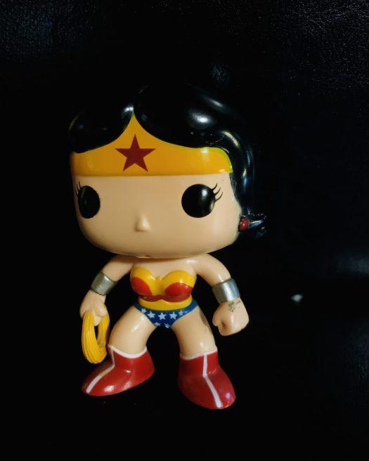 W is for WonderWoman