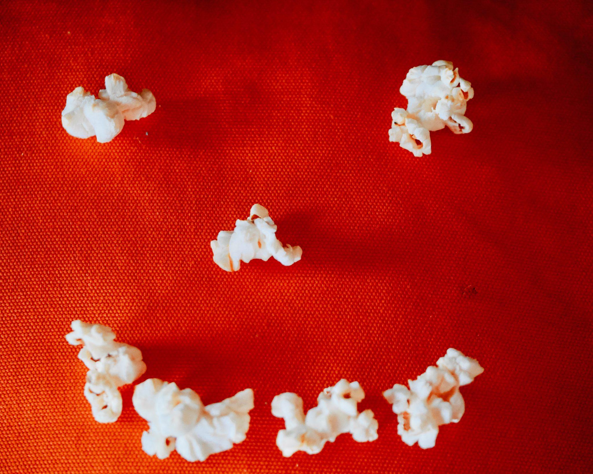 7 bits of popcorn