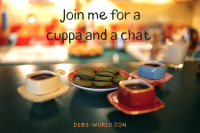 Join me for a cuppa and a chat