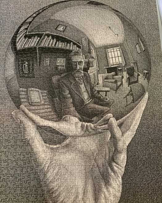 Escher jigsaw