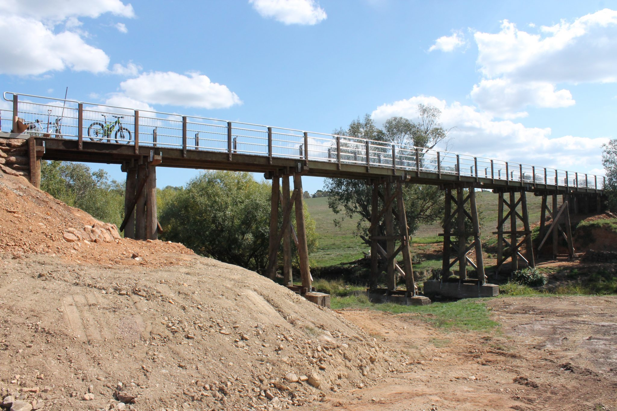 Mannus Creek bridge